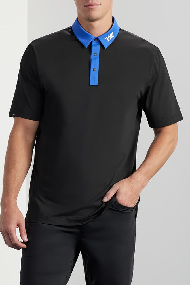 Comfort Fit Contrast Collar Polo Image 0