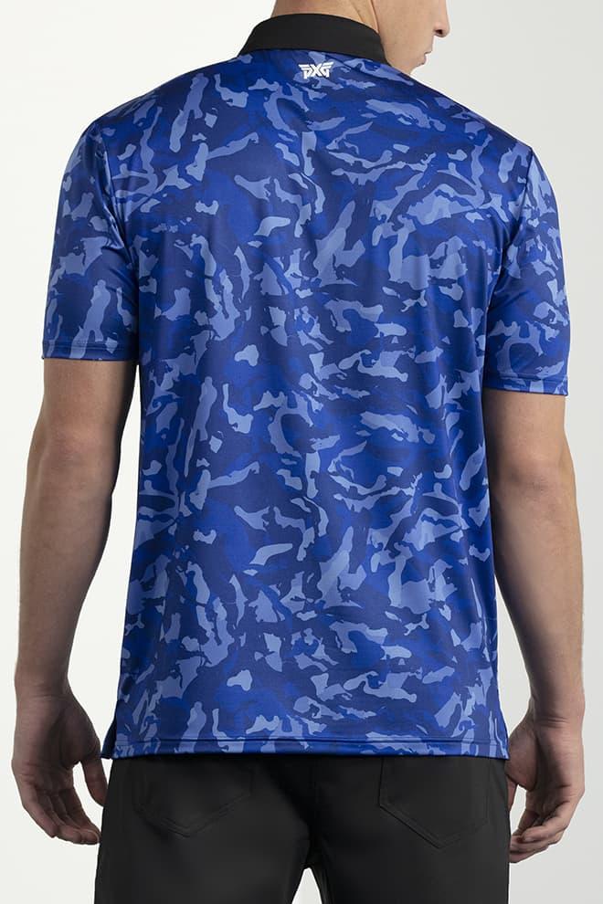 Comfort Fit Paratrooper Blue Fairway Camo™ Polo Image 4
