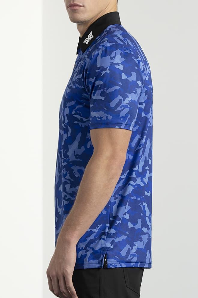 Comfort Fit Paratrooper Blue Fairway Camo™ Polo Image 2