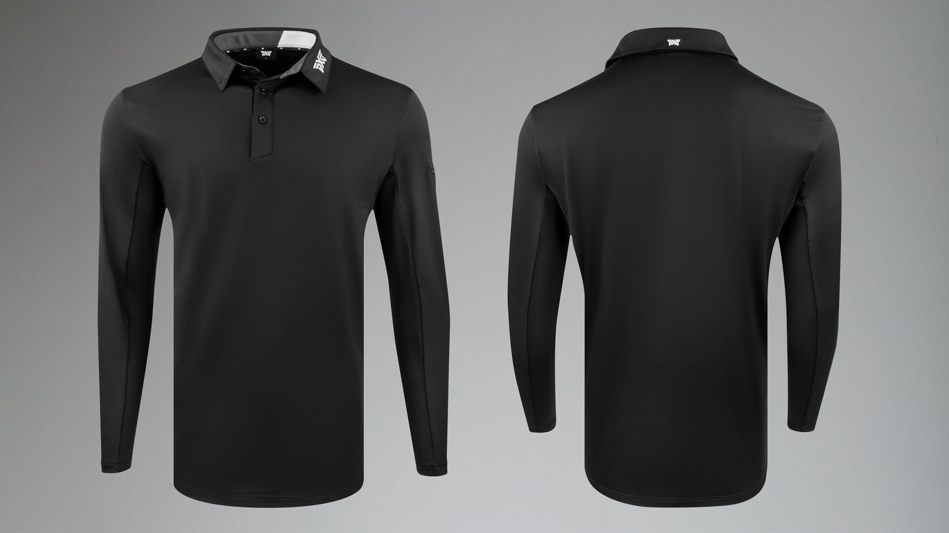 Long Sleeve Swing Performance Polo Image 1