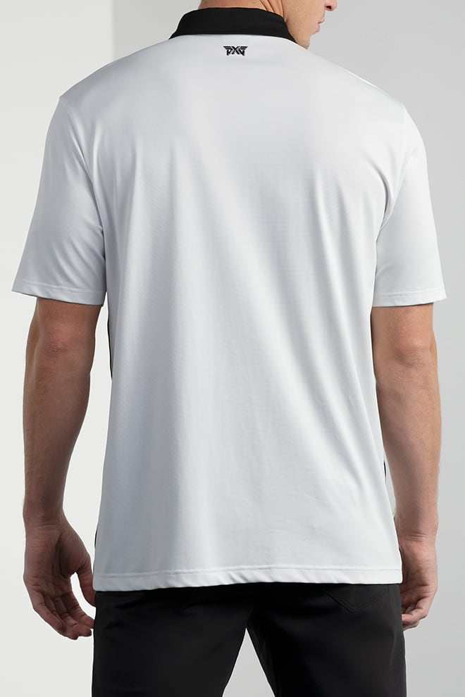 Comfort Fit Performance Side Stripe Polo Image 3