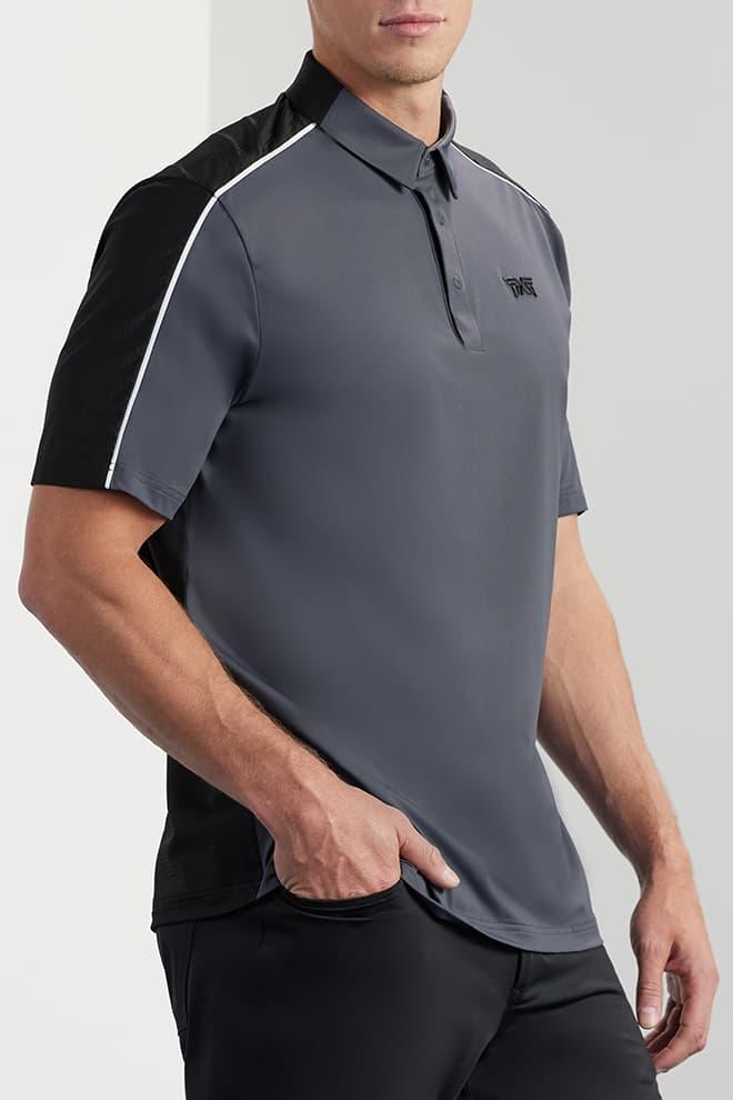 Comfort Fit Shoulder Block Polo Image 2