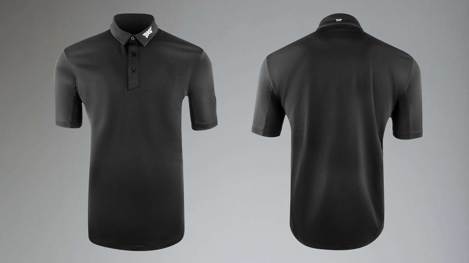 Textured Stretch Polo Image 5