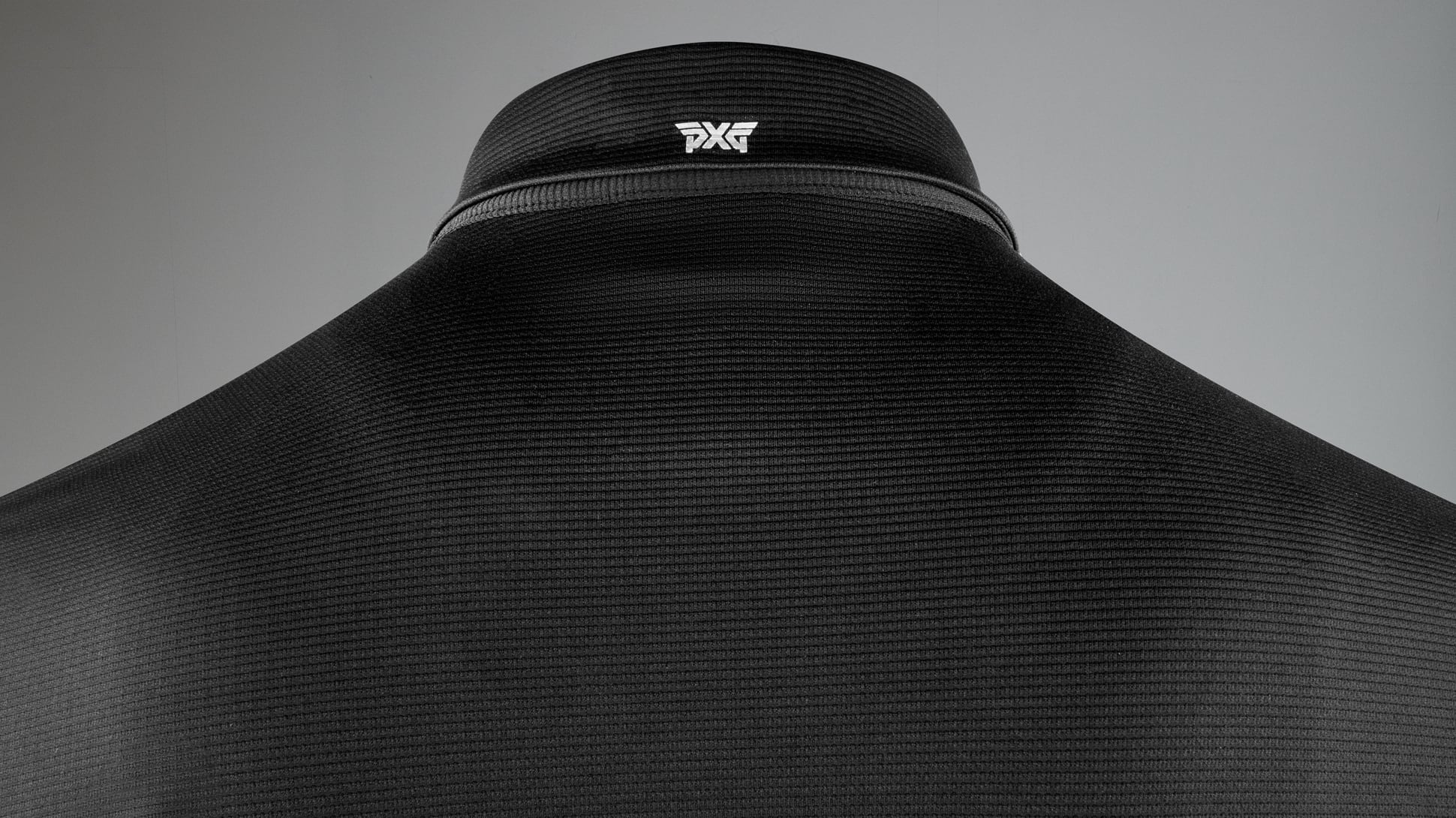 Textured Stretch Polo Image 9