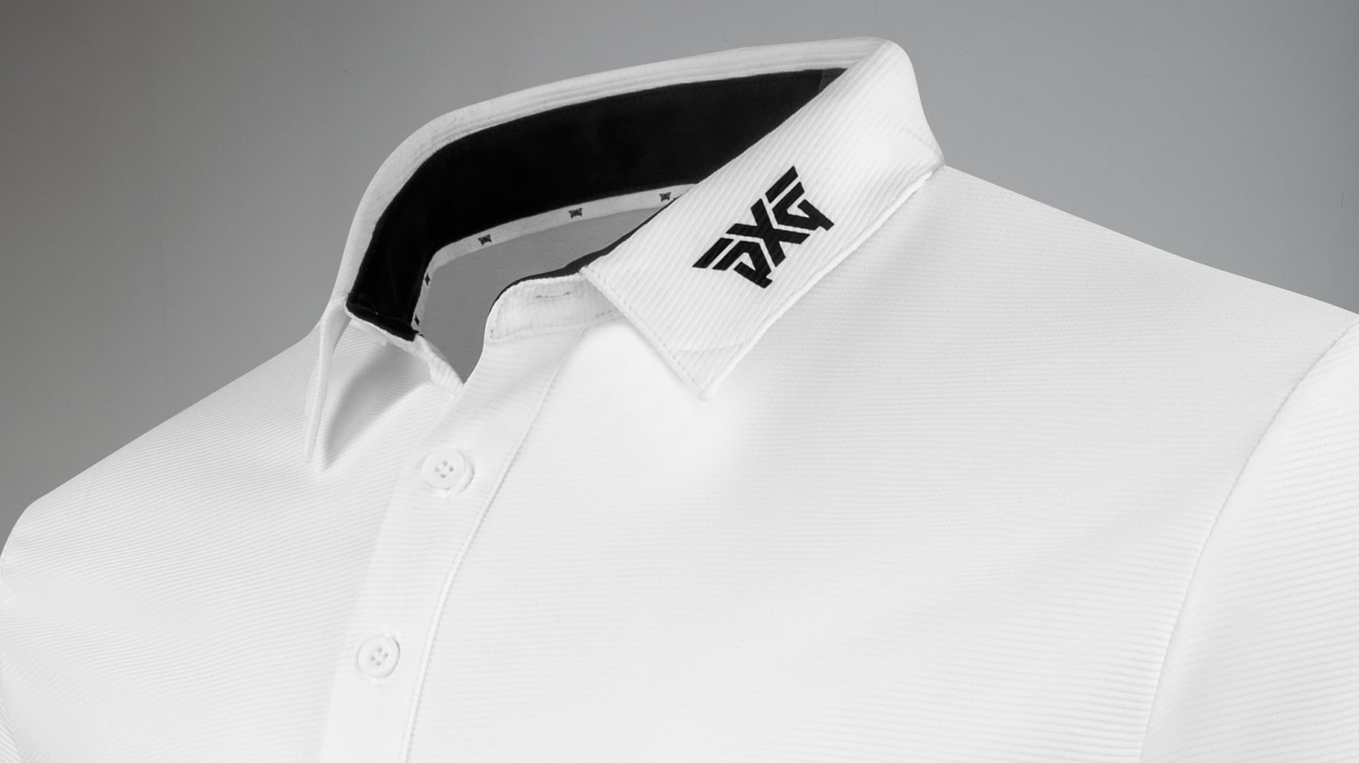 Textured Stretch Polo Image 2