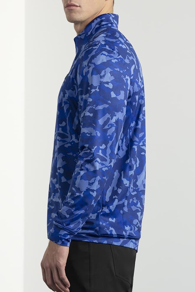 Paratrooper Blue Fairway Camo™  Essential Pullover Image 2