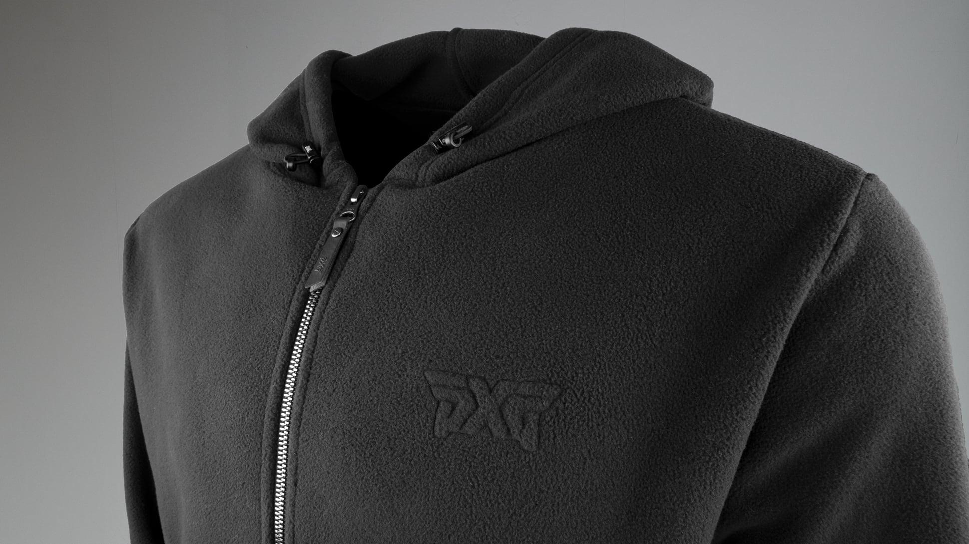 Full-Zip Fleece Hoodie Image 2