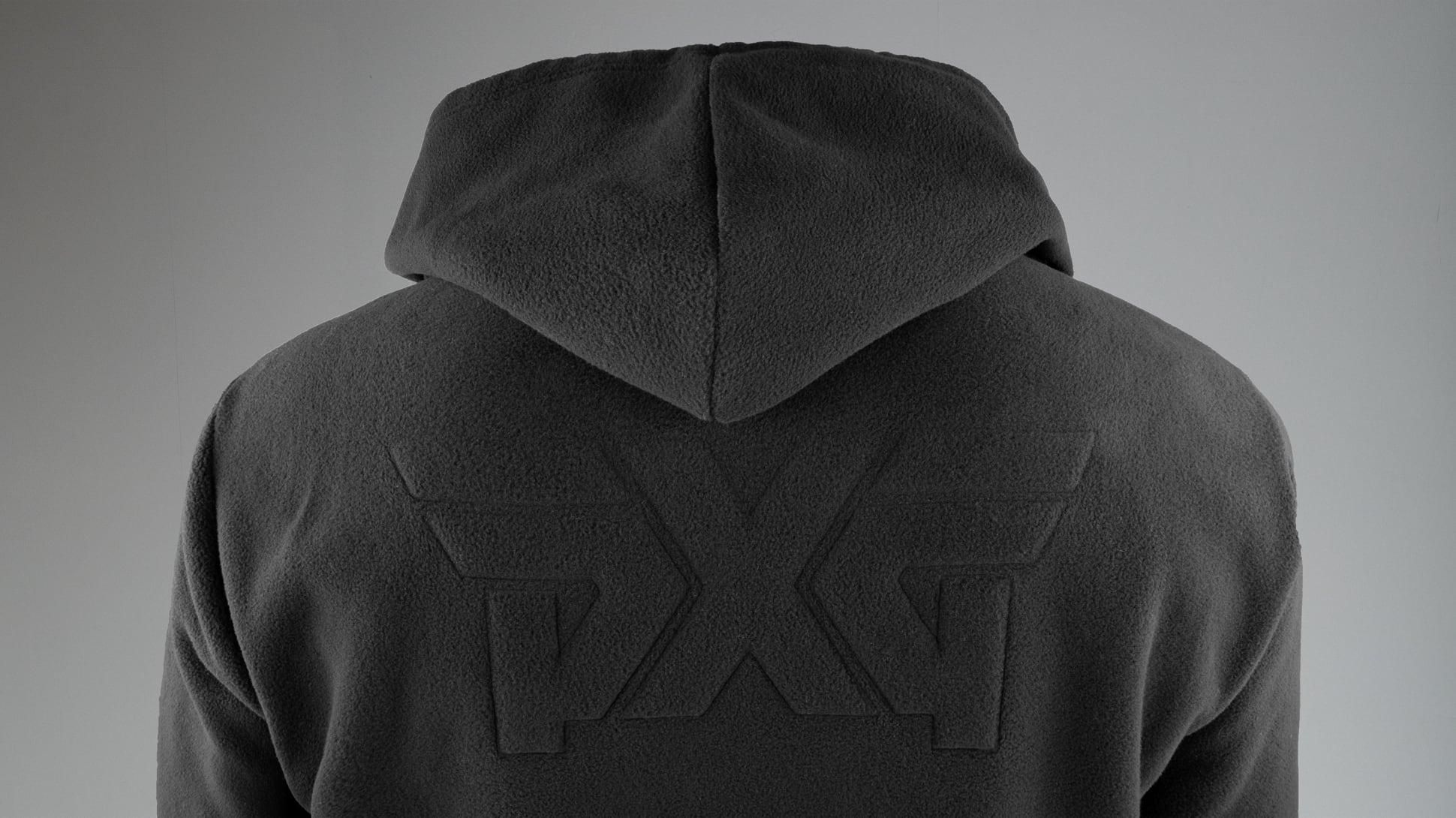 Full-Zip Fleece Hoodie Image 3