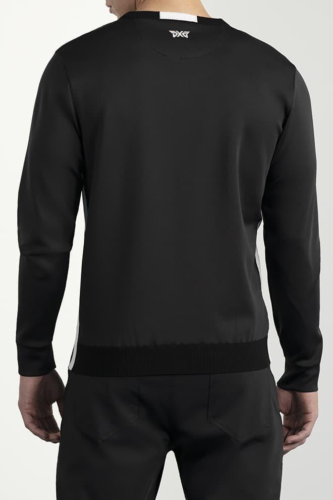 Hybrid Knit Collar Tab Pullover Image 4