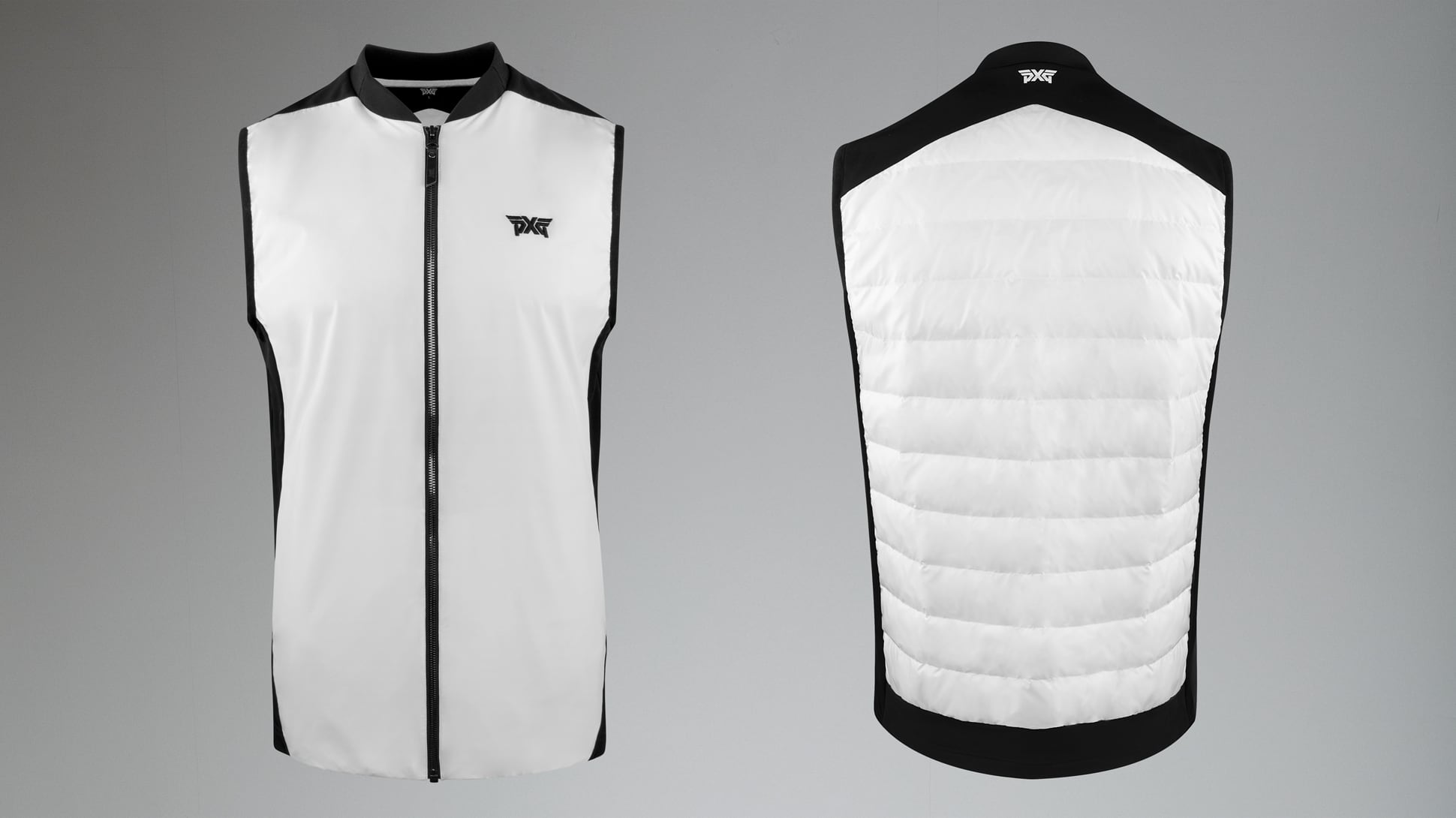 Quilted Core Down Hybrid Vest Image 5