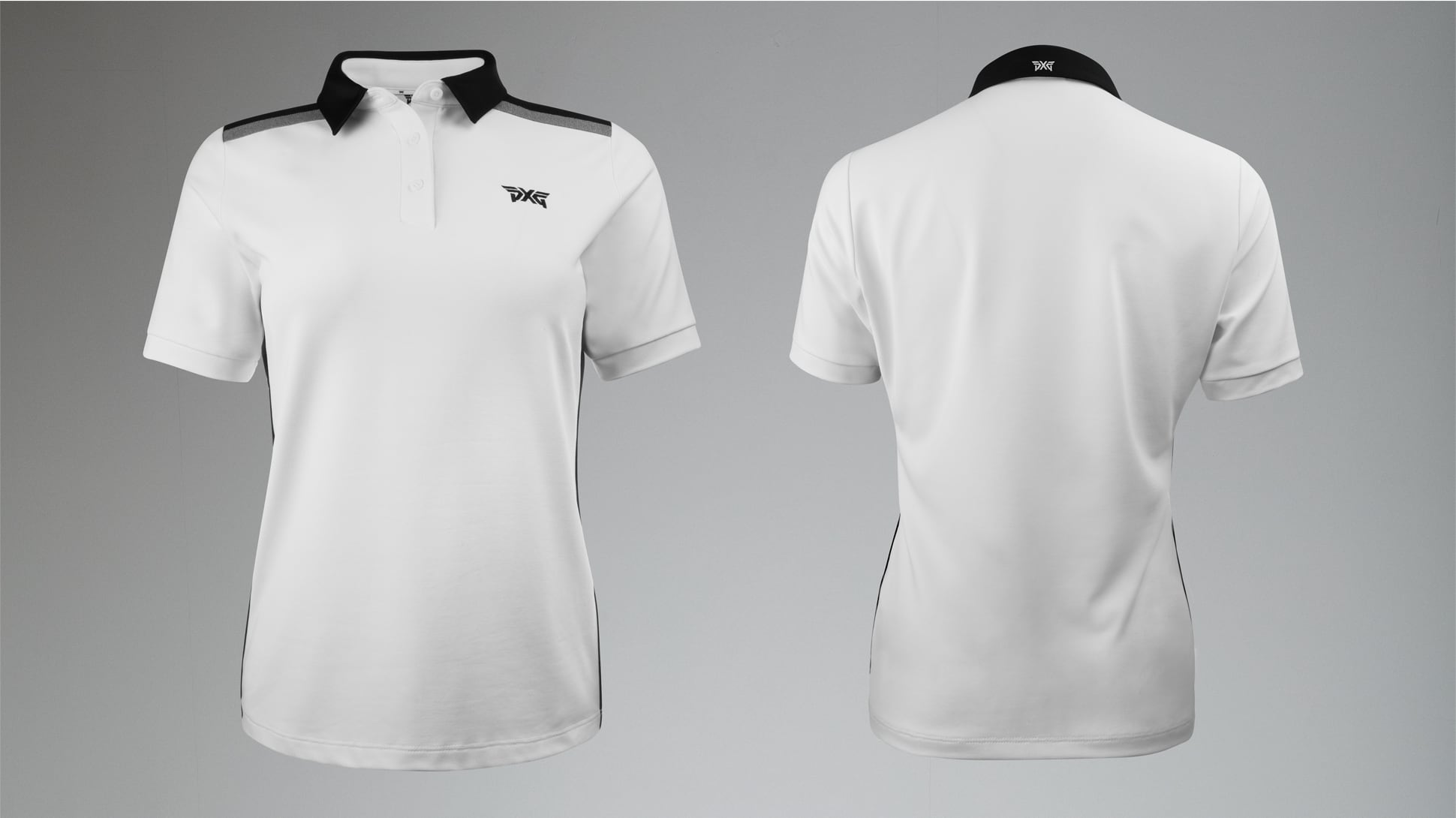 Short Sleeve Band Point Polo Image 6