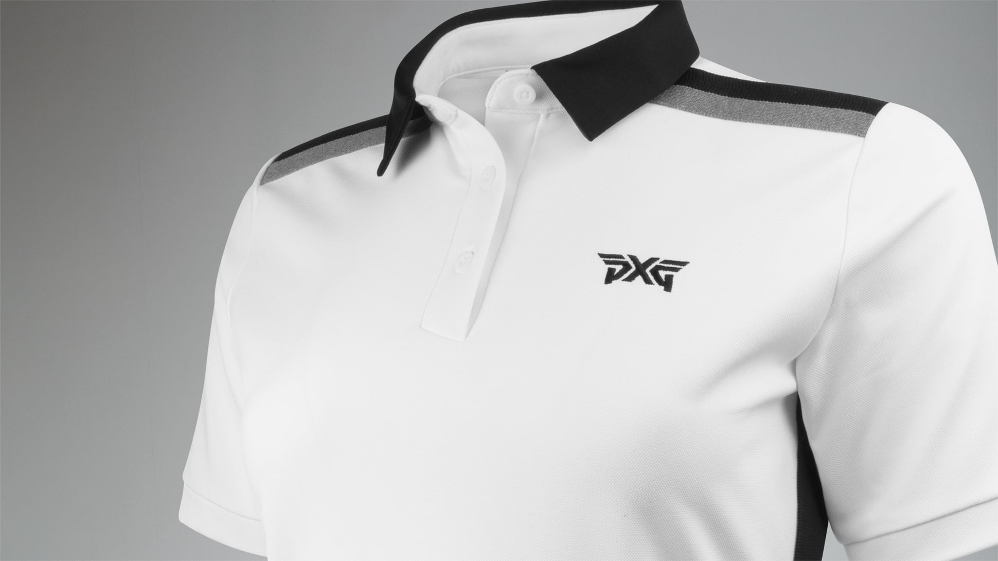 Short Sleeve Band Point Polo Image 8