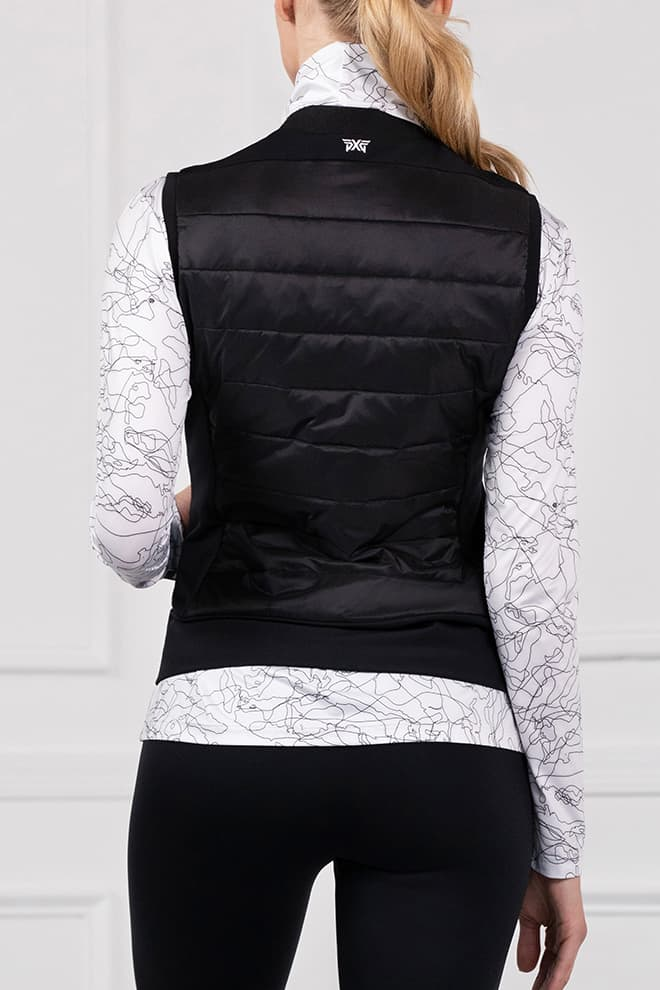 Quilted Core Hybrid Down Vest Image 3