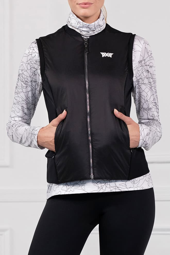 Quilted Core Hybrid Down Vest Image 1
