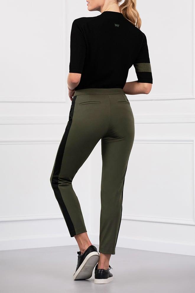 Color Stripe Pants Image 3