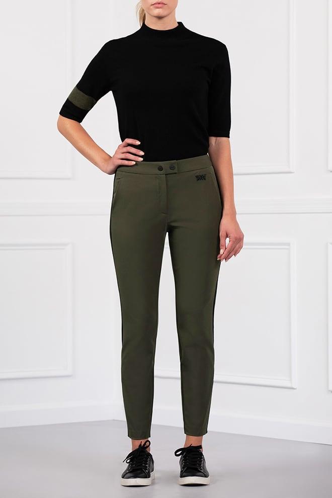 Color Stripe Pants Image 1