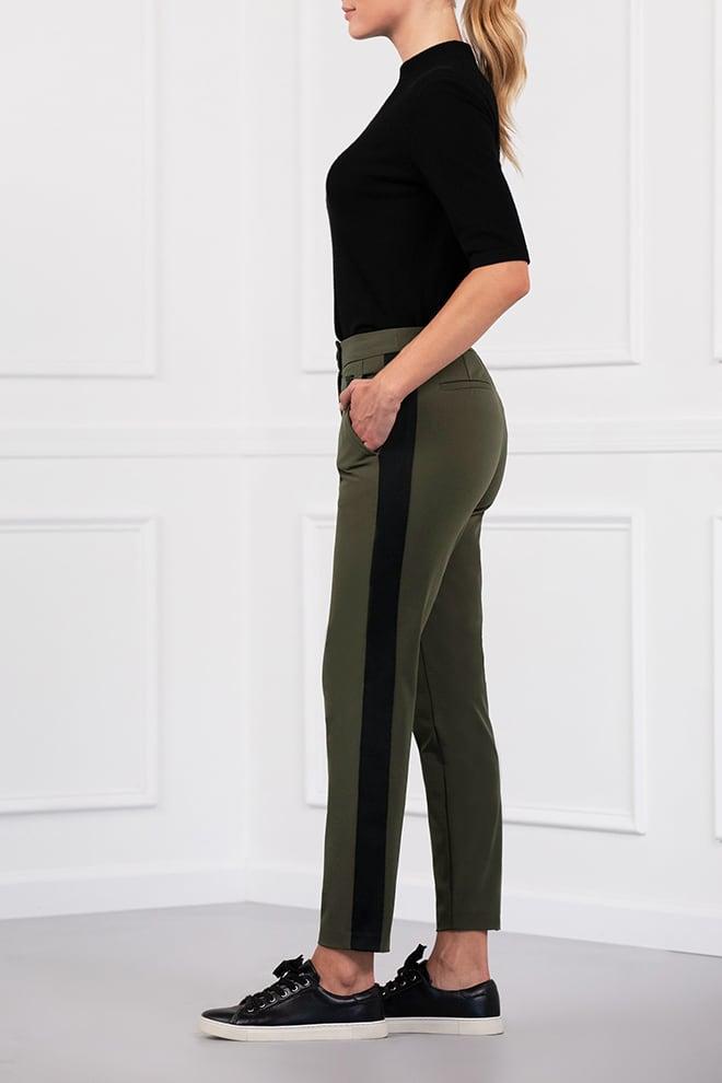 Color Stripe Pants Image 2