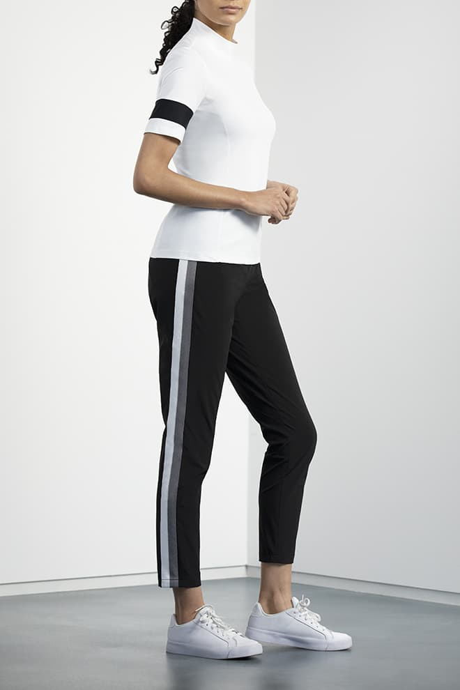 Side-Stripe Pants Image 1