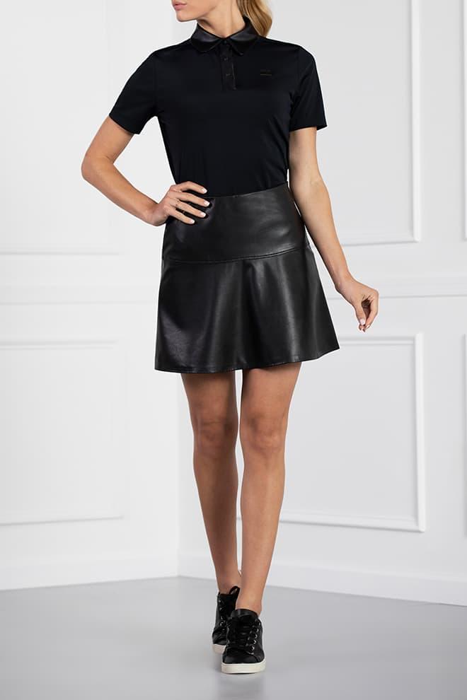 Eco-Leather Skirt Image 1