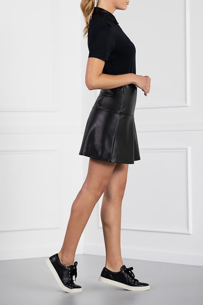 Eco-Leather Skirt Image 3