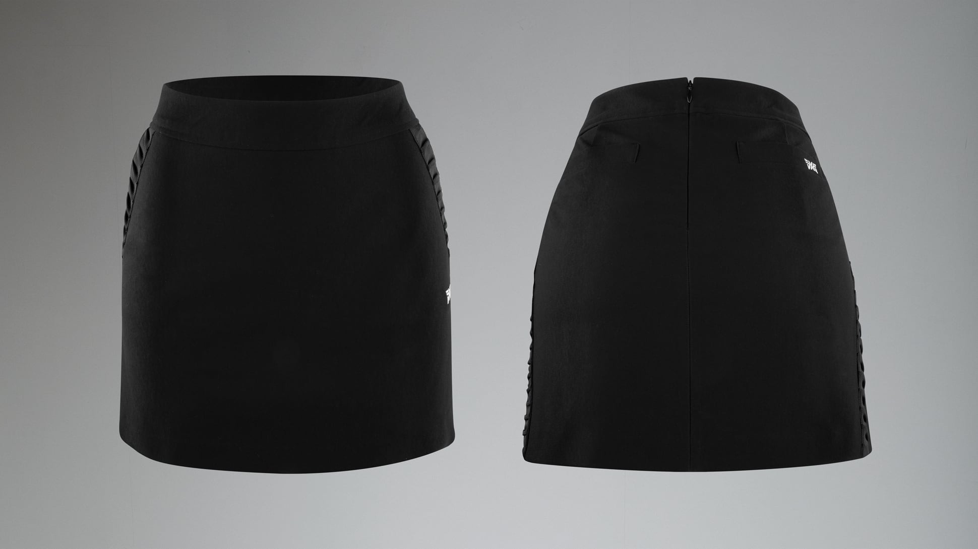 4-Way Stretch Flare Skirt Image 1