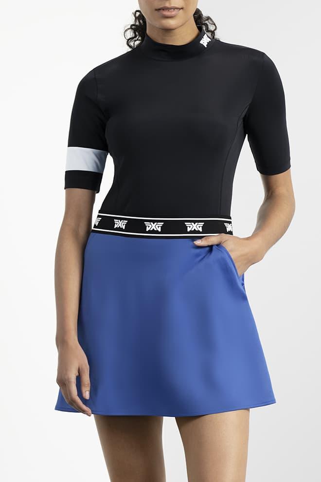 Paratrooper Blue Logo Tape Skirt Image 2
