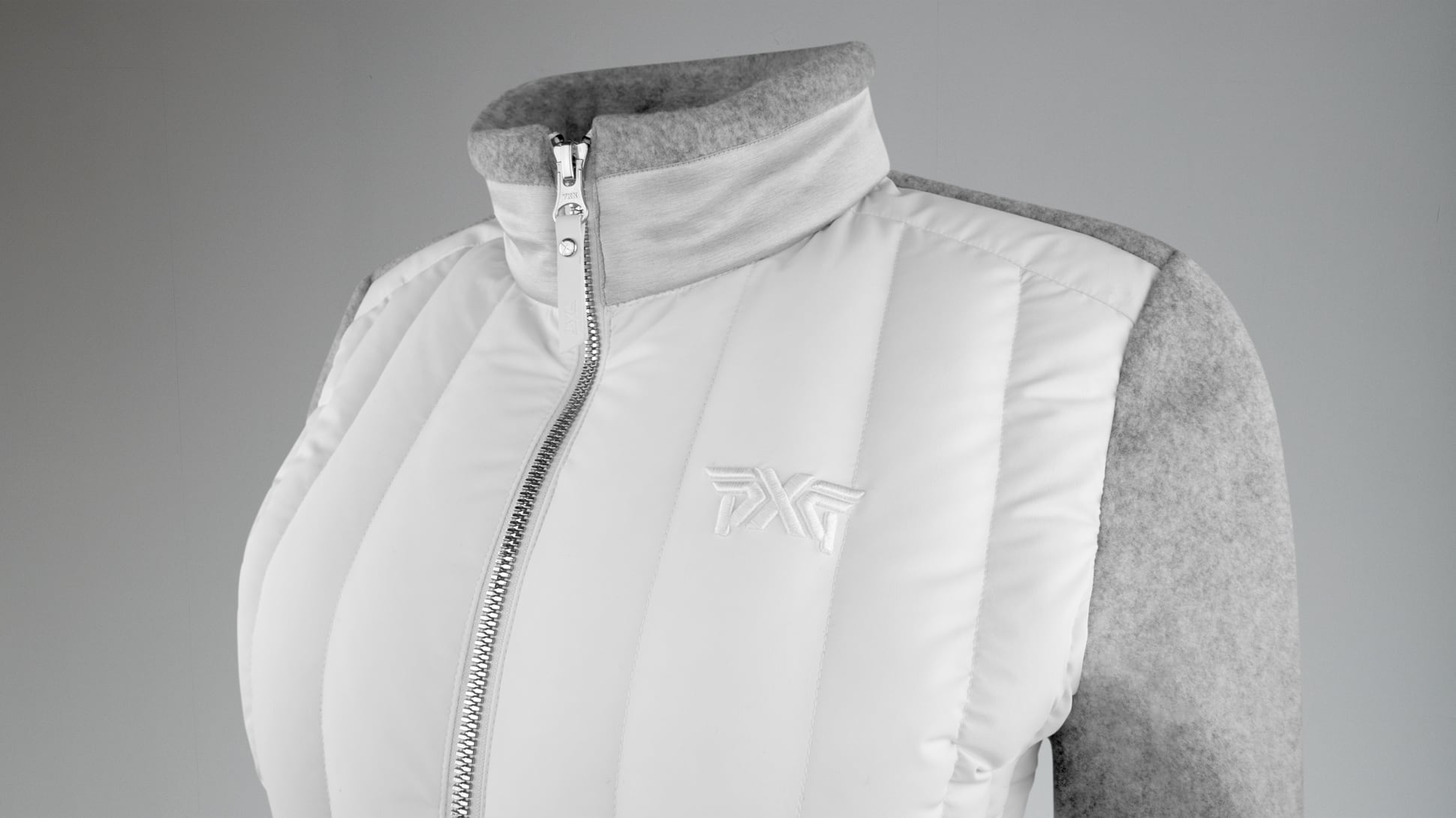 Fleece Hybrid Swing Down Jacket Image 2