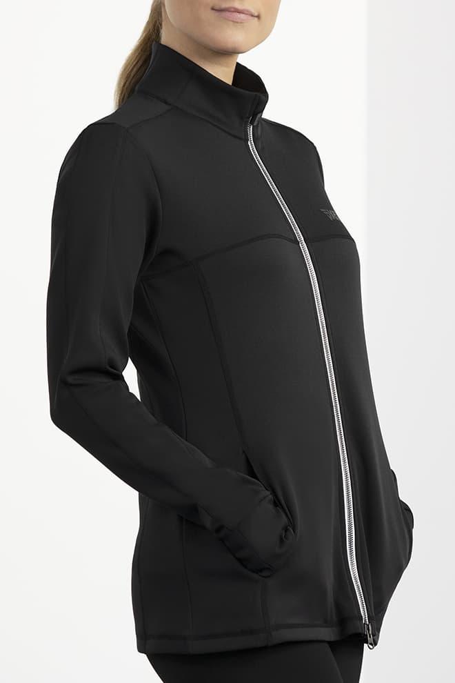 Mock Neck Jacket Image 3