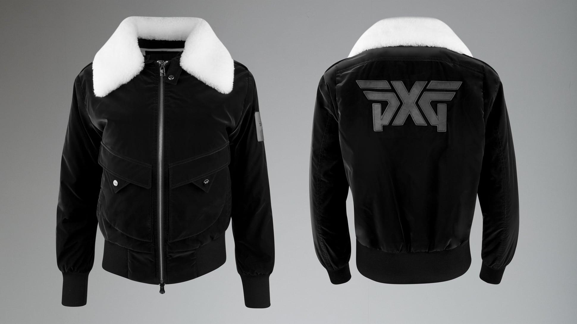 Winter-Ready Wool Bomber Jacket Image 1