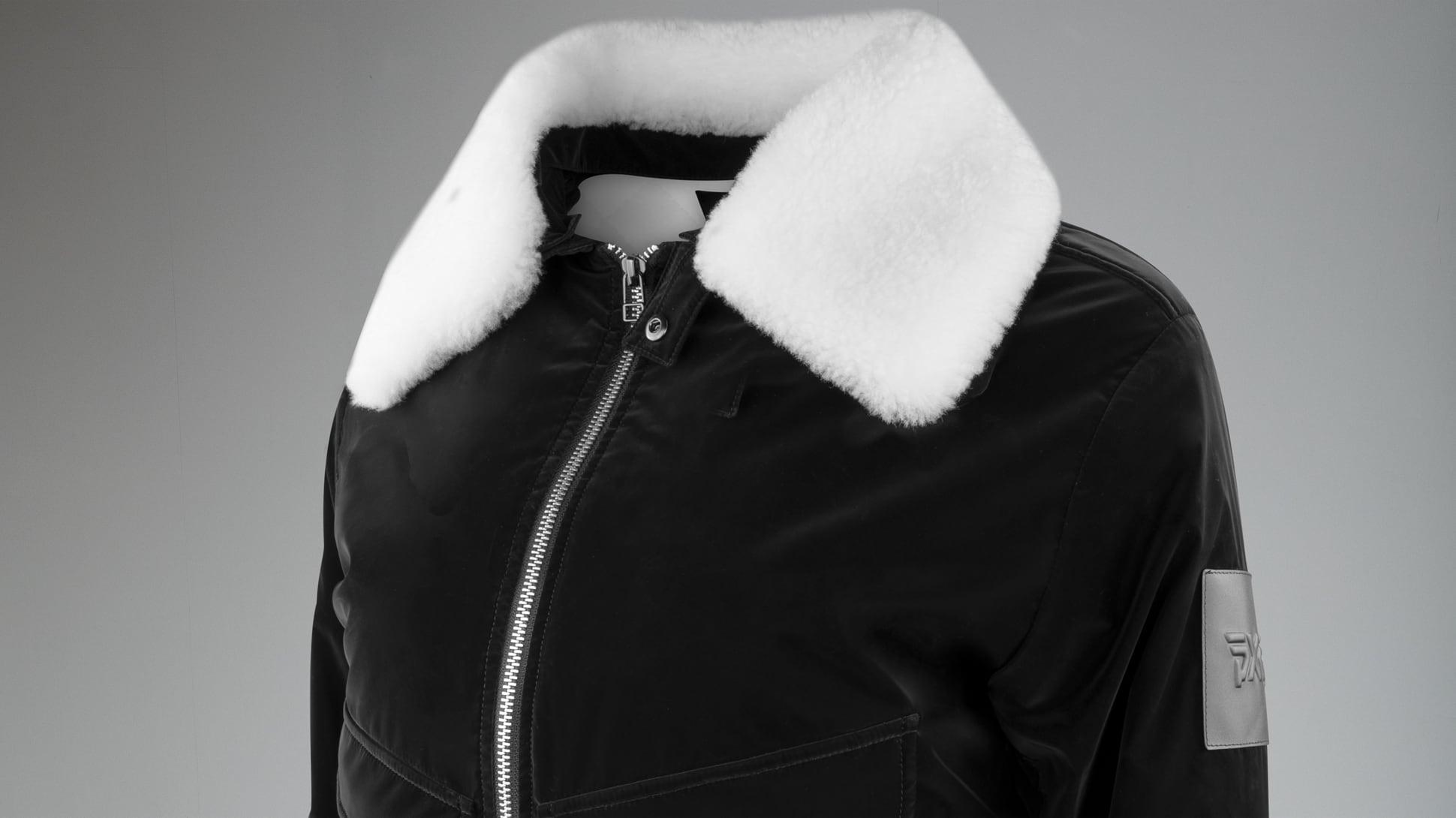 Winter-Ready Wool Bomber Jacket Image 2