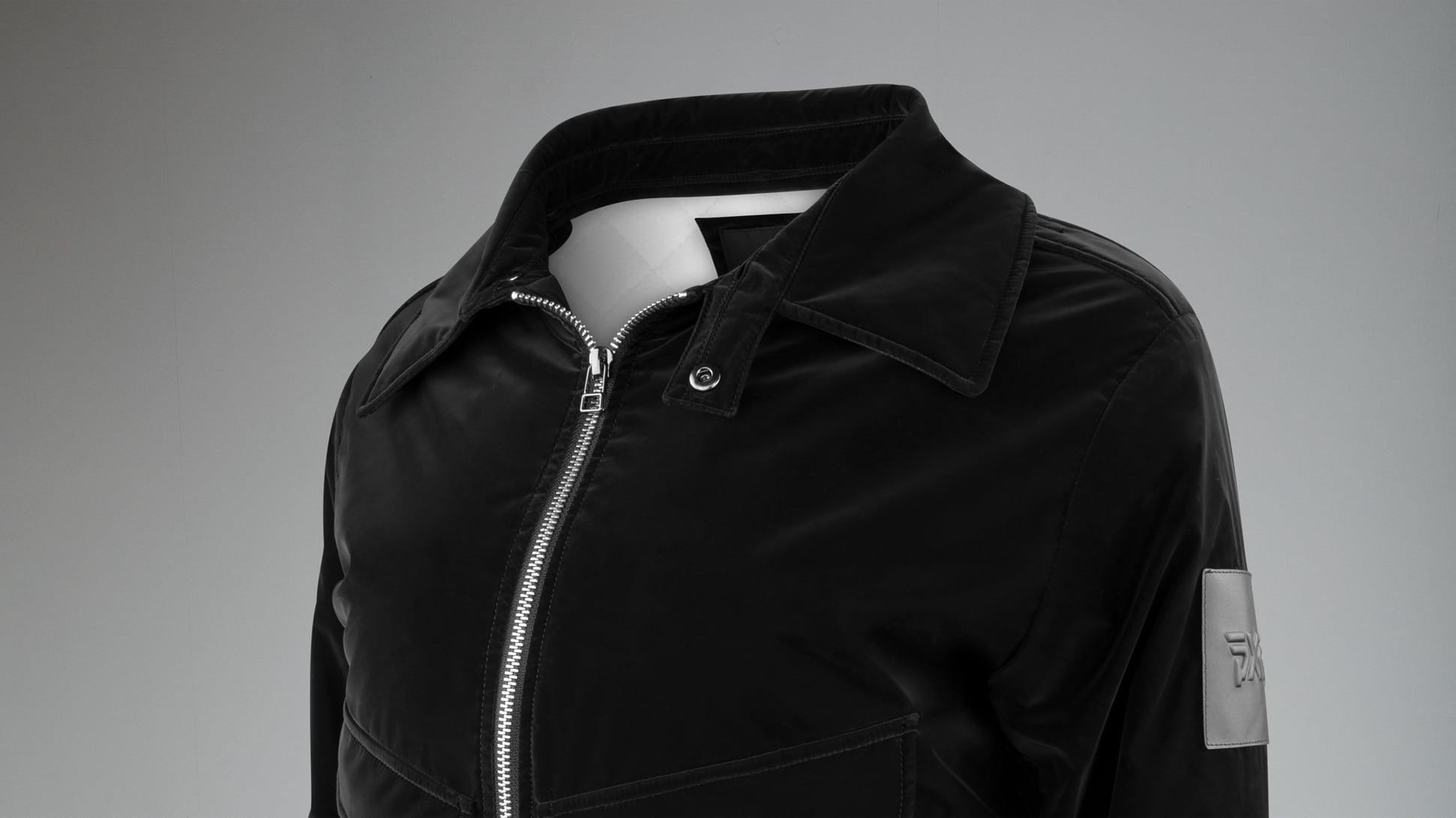 Winter-Ready Wool Bomber Jacket Image 3