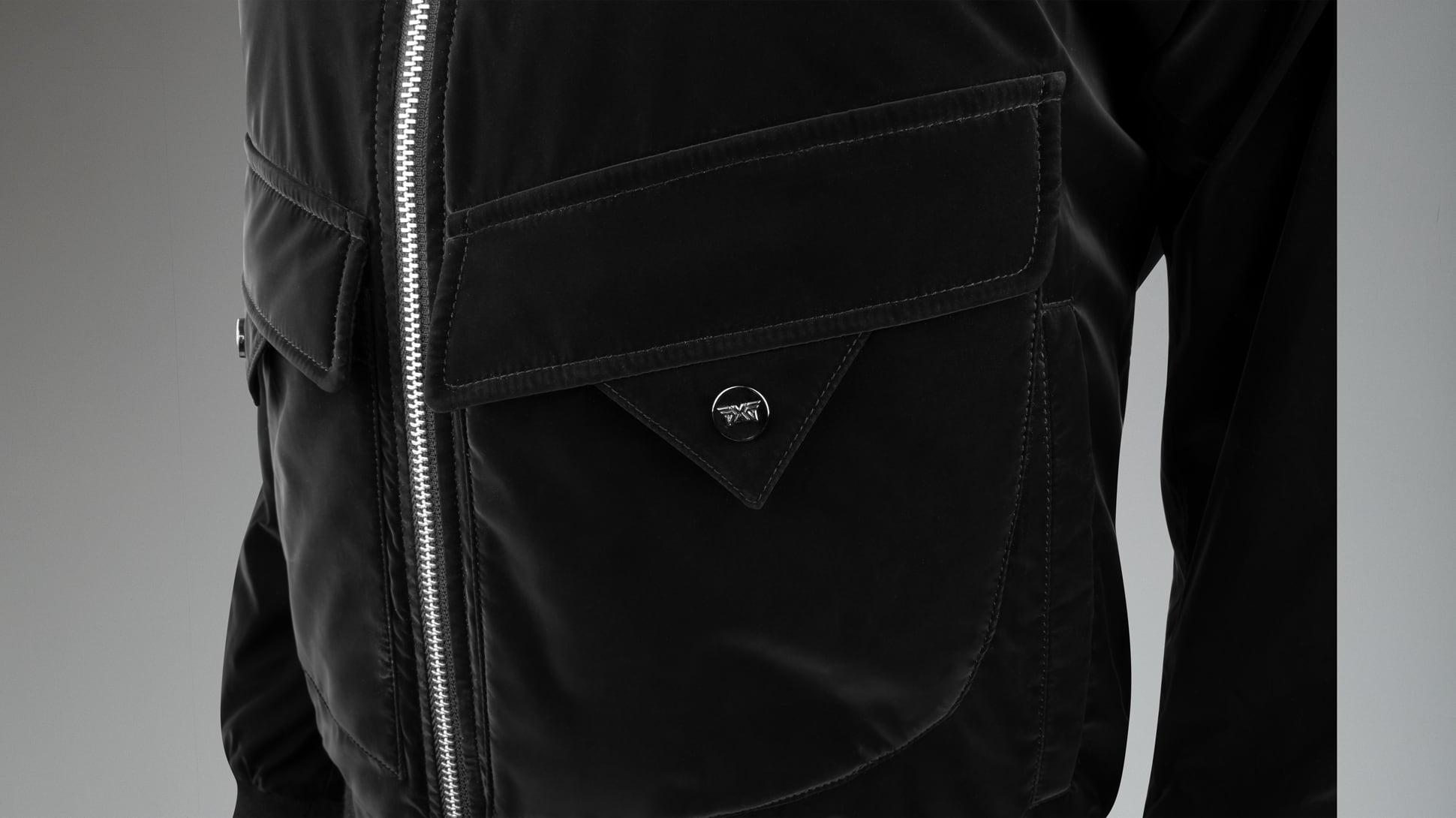Winter-Ready Wool Bomber Jacket Image 5