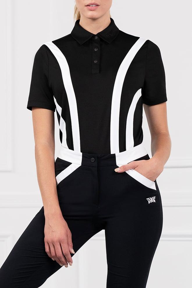 Contrast Stripe Polo Image 1
