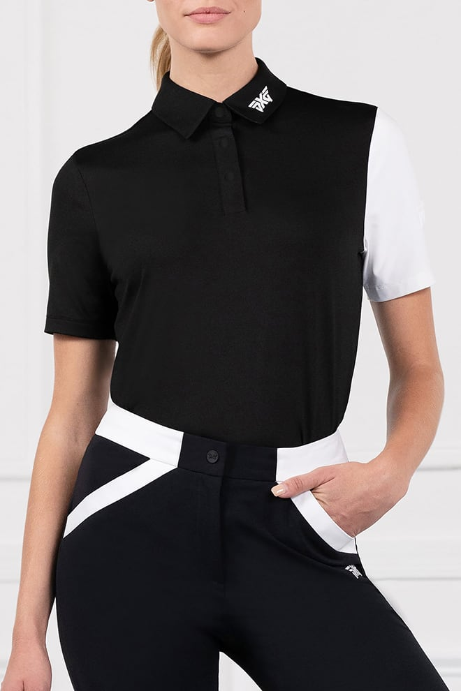 Block Sleeve Polo Image 1