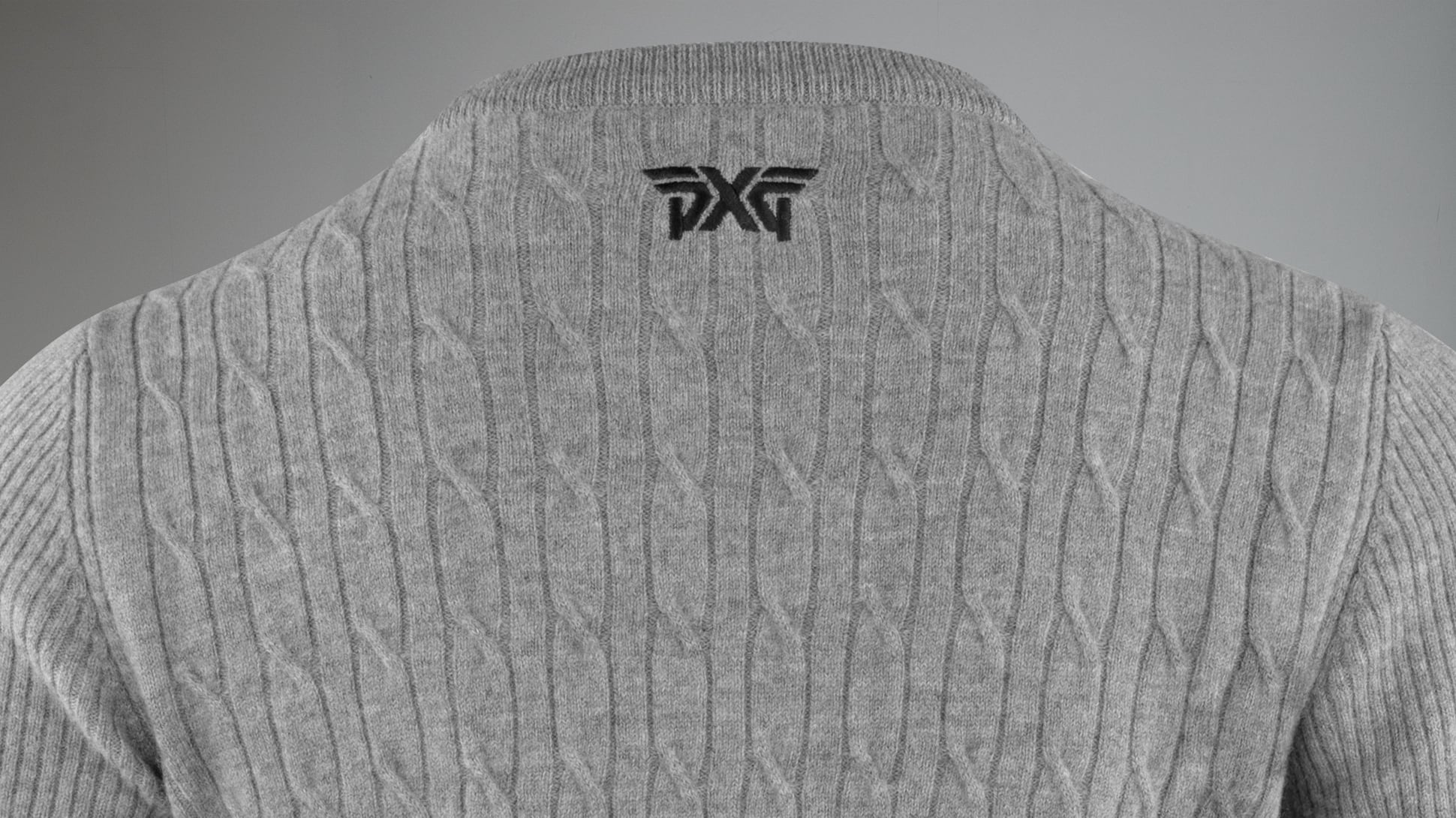 Cable Knit Wool Sweater Image 3