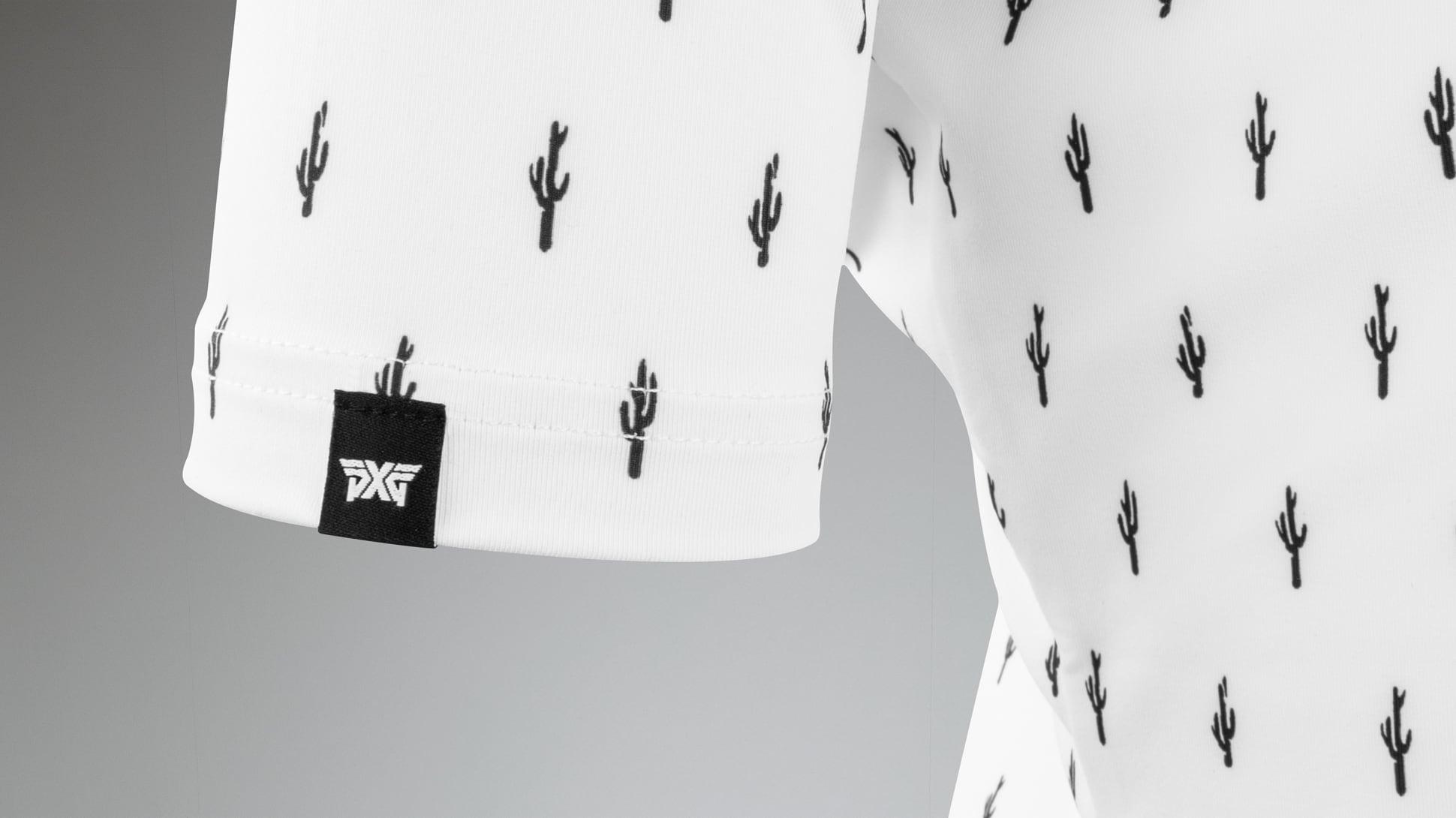 Short Sleeve Cactus Polo Image 7