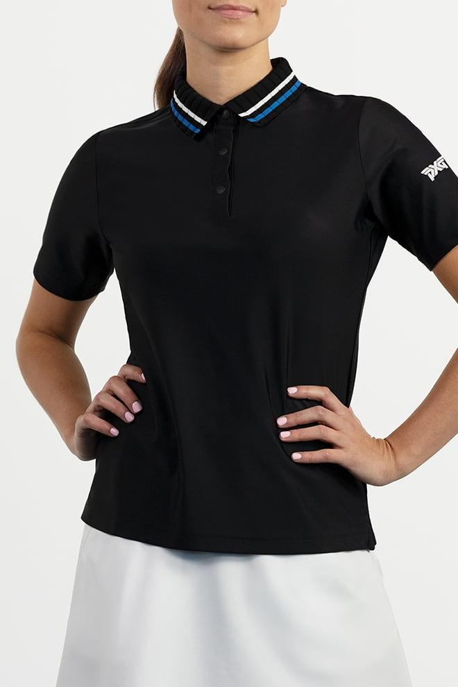 Collar Stripe Polo Image 1