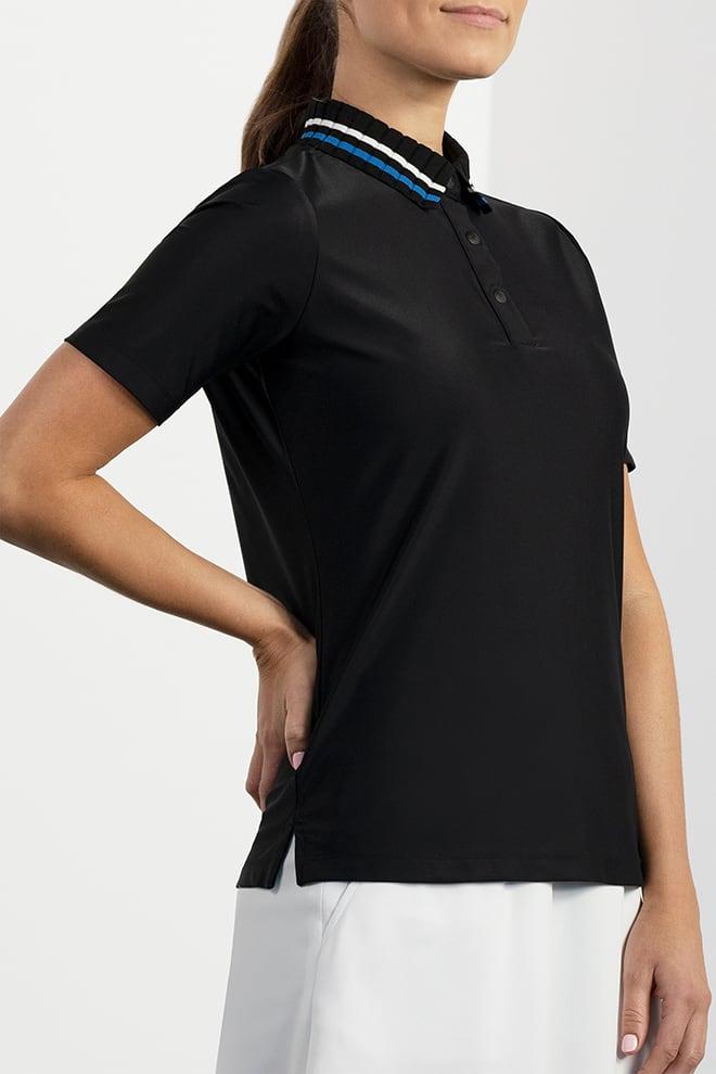 Collar Stripe Polo Image 3
