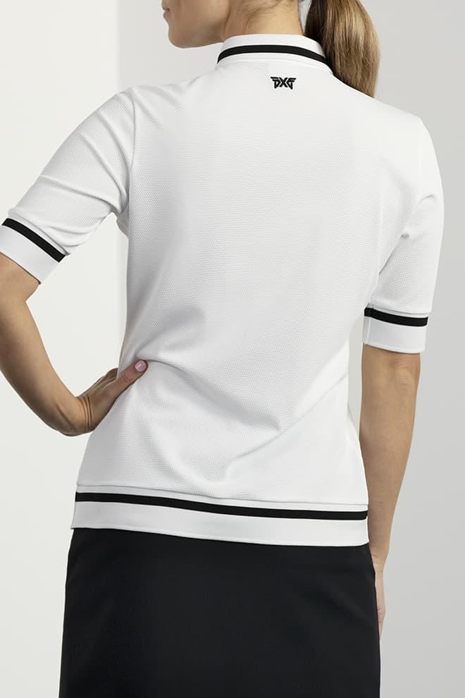 Contrast Sleeve Polo Image 2