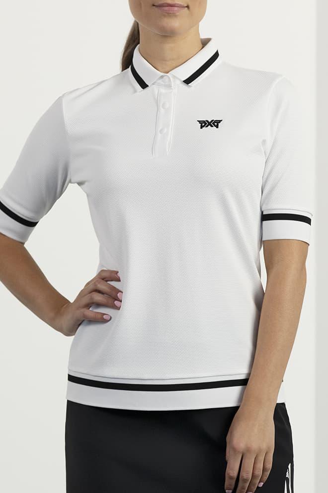 Contrast Sleeve Polo Image 0