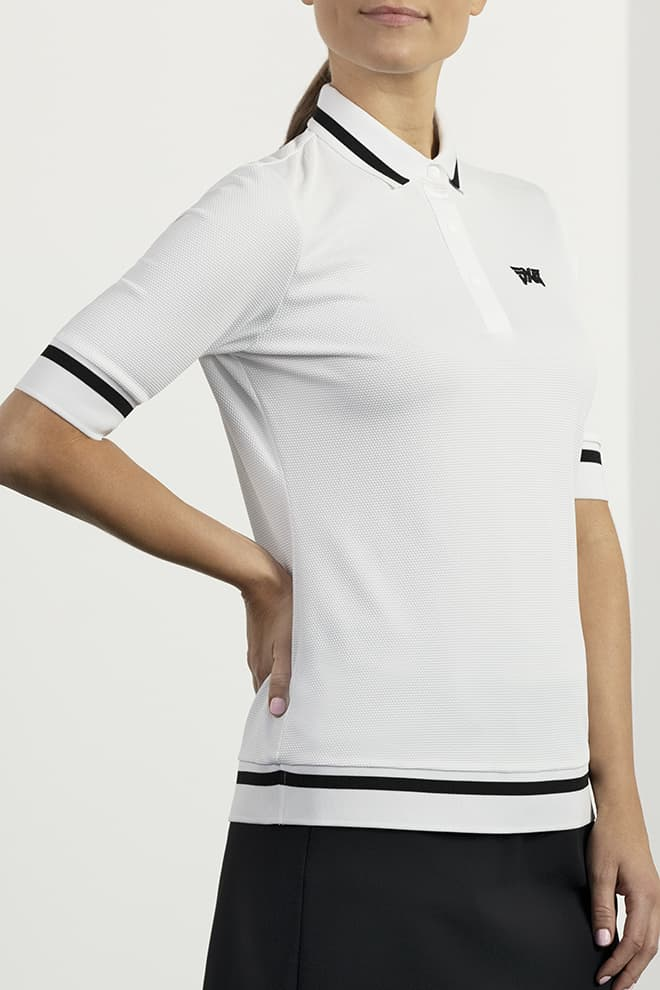 Contrast Sleeve Polo Image 1