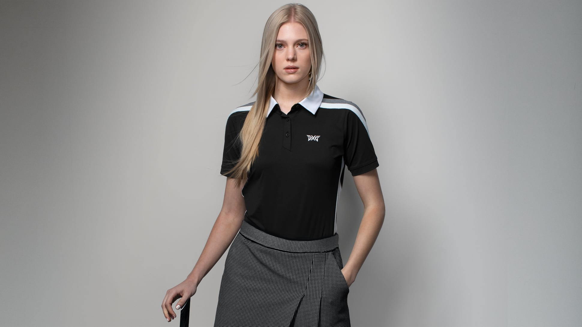 Short Sleeve Band Point Polo Image 1