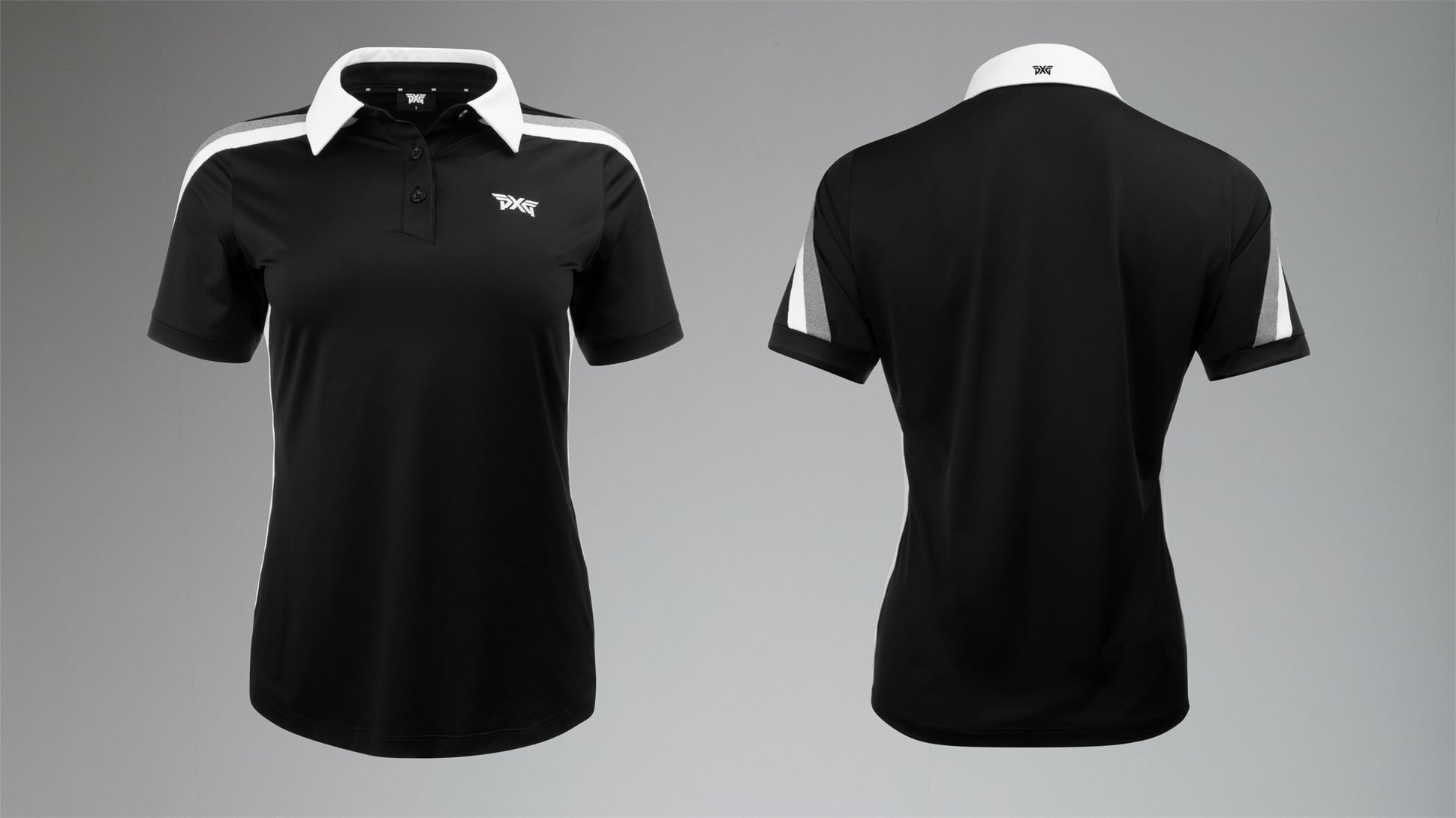 Short Sleeve Band Point Polo Image 2
