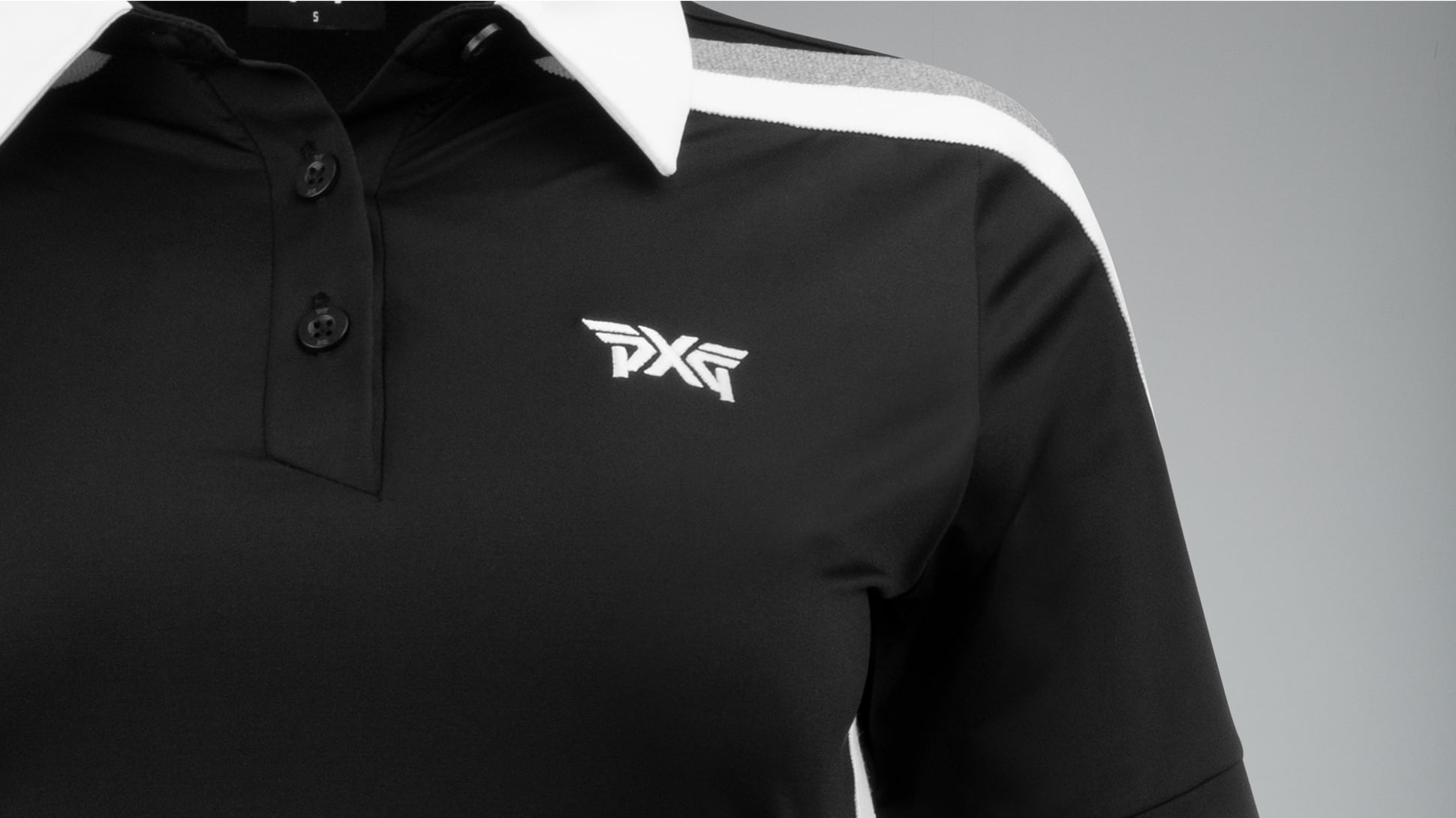 Short Sleeve Band Point Polo Image 3