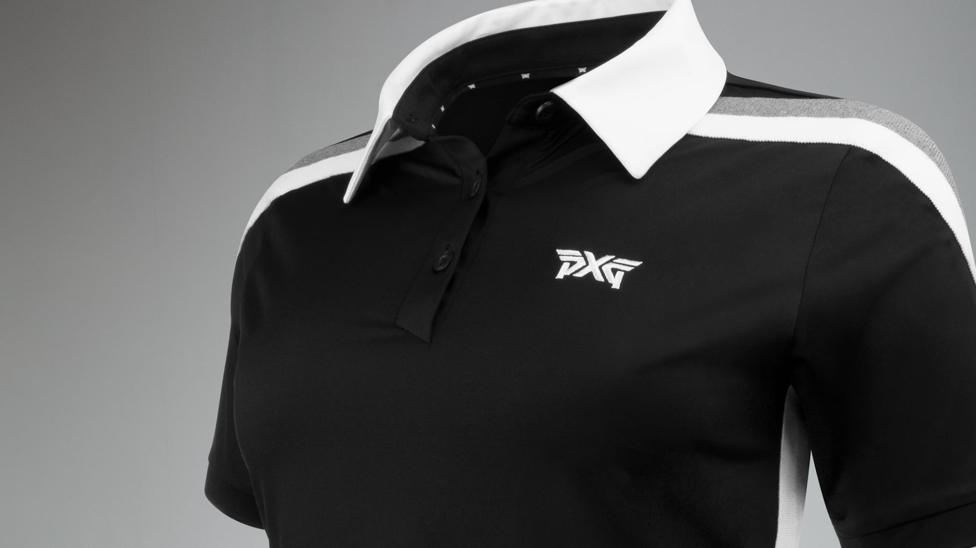 Short Sleeve Band Point Polo Image 4