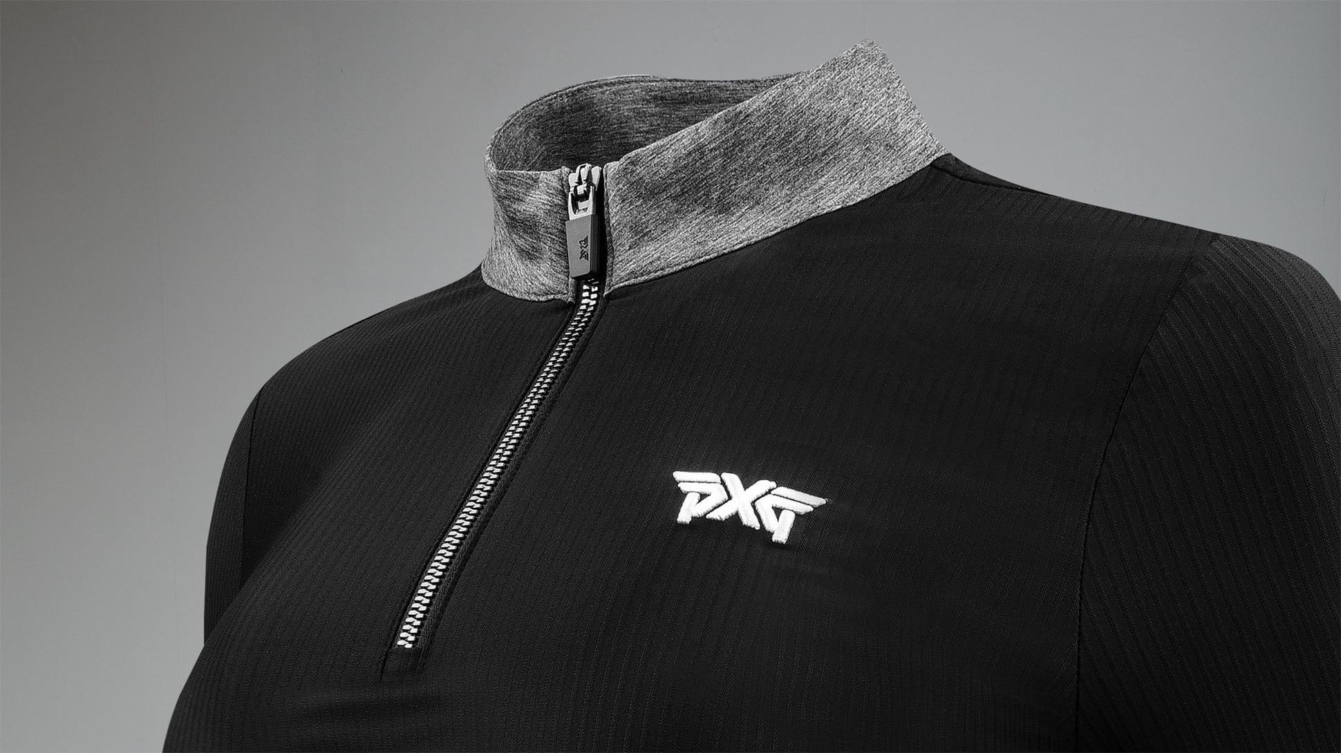 Zip Mock Neck Long Sleeve Shirt Image 2