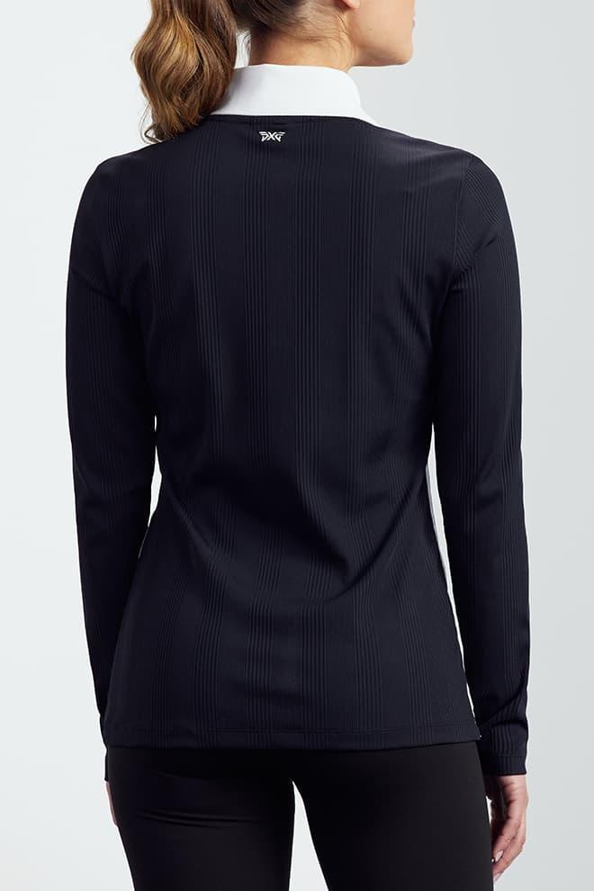 Asymmetric Collar Long Sleeve Shirt Image 4