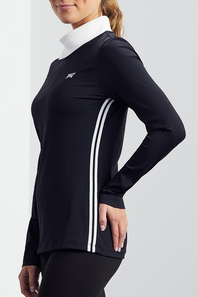 Asymmetric Collar Long Sleeve Shirt Image 3