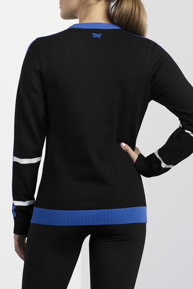 Color Block Sweater Image 3