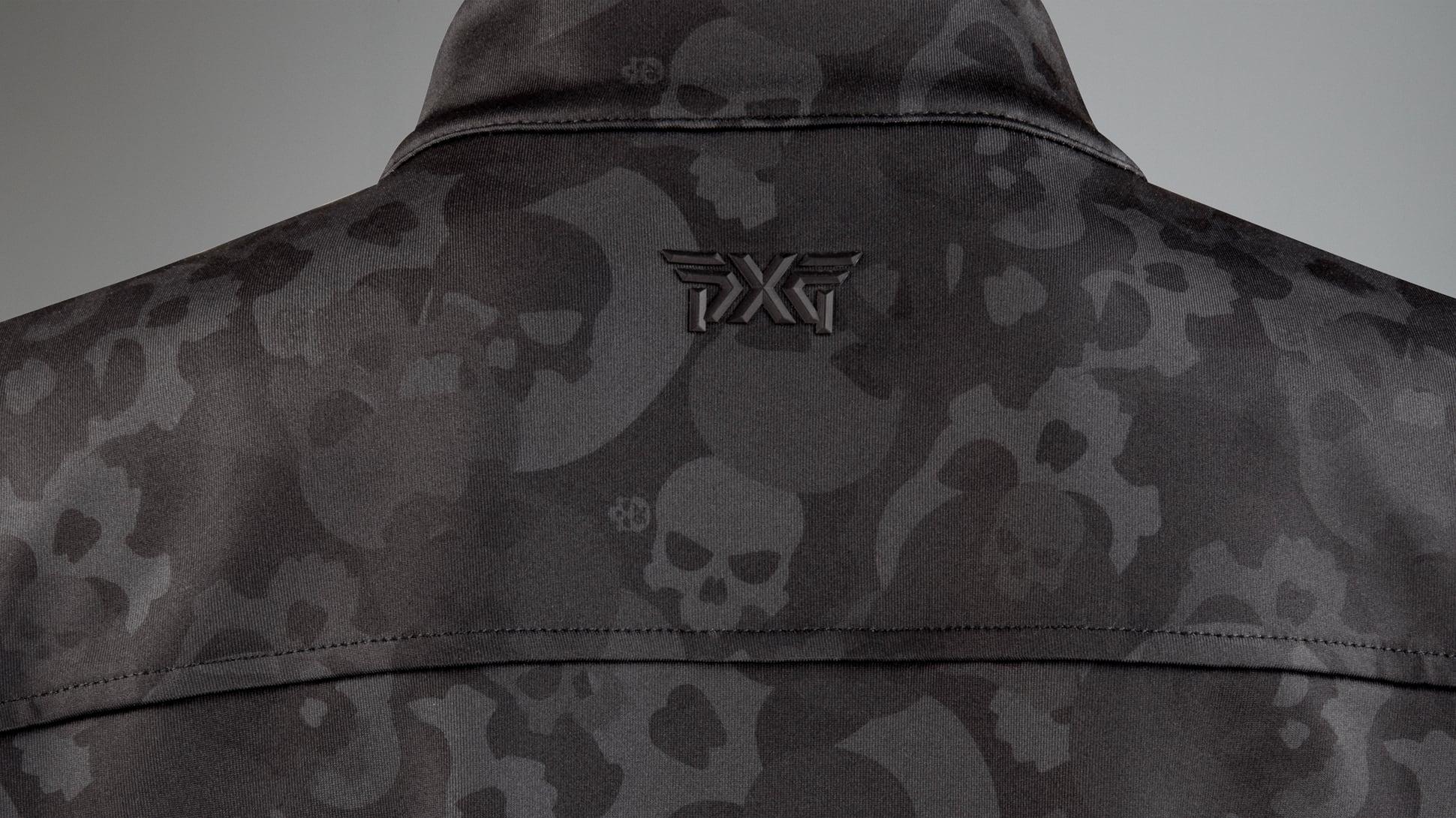 Darkness Skull Camo Quarter Zip Image 3